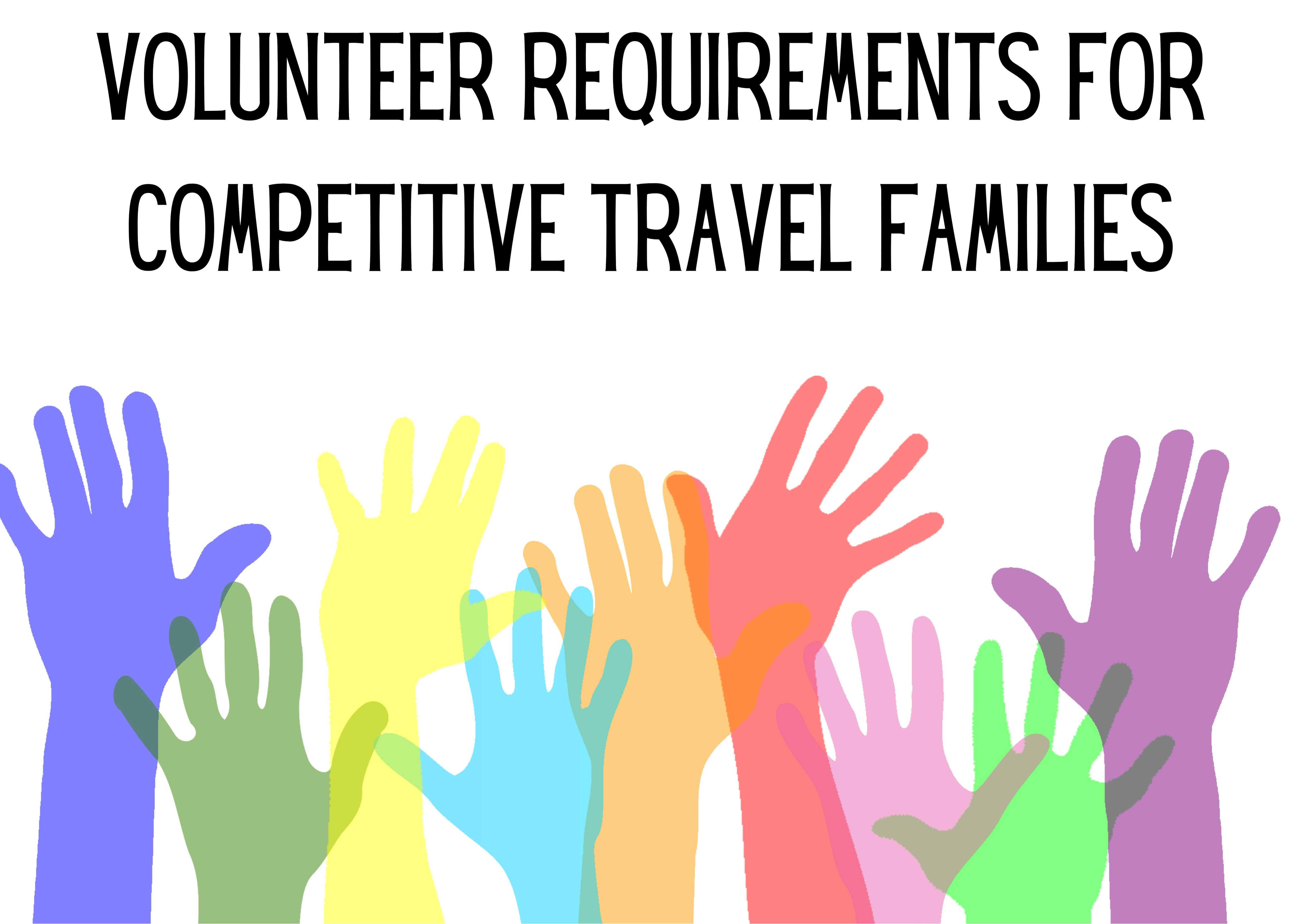 Volunteer Requirements for Travel Families